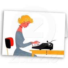 We love these retro Administrative Professionals greeting cards! Order, inscribe with a note of appreciation, and present to your Administrative Professionals.