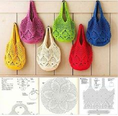 Schritt für Schritt ~ Crochet Magazine - Wie Tasche in der berühmten Häkeln