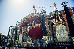 Tomorrowland stages