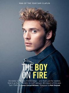 Sam Claflin is Glamour UK Man of The Year
