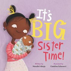 Baby's loud. Baby's messy. Sometimes Baby really smells. Maybe Baby just doesn't know the rules? Good thing it's big sister time—she can show Baby how to be the best baby ever! Told through the eyes of a big sister, this charming hardcover picture book empowers older siblings by showing them that they have very important roles to play in introducing their family's new baby to the world. National Book Store, Older Siblings, Baby Hippo, Baby Shawer, Physical Development, Gifts For Readers, Children's Picture Books, Lol Dolls, Newborn Care