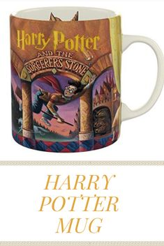 Harry Potter and the Sorcerer's Stone coffee mug. Unique coffee mugs, perfect gift for the Harry Potter fan in your life! Unique Coffee Mugs, Funny Coffee Mugs, Funny Mugs, The Sorcerer's Stone, Harry Potter Mugs, Cute Mugs, Gifts In A Mug, Ceramics, Tableware