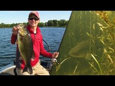 Flipping & Pitching Northern Bass in Heavy Grass - YouTube