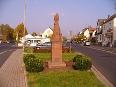 Kahl am Main, Bavaria, Germany. My hometown (and the 'Sandhase' symbol - lived close by.