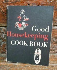 Vintage Good Housekeeping Cookbook, 1963 Cookbook, Vintage Recipe Book by EmptyNestVintage on Etsy