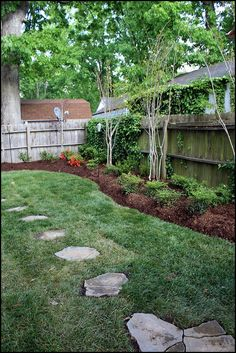 a new backyard | new backyard by Amber Karnes, via Flickr | DIY