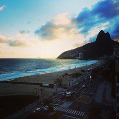 """Chegando no Hotel com essa vista """"mais ou menos""""!!!! Boraaaa pro fim de semana Carioca!!!!!! I  Rio"""