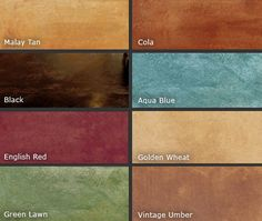 The Beauty of Color Dyed and Acid Stained Garage Floors