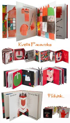 Picture book making Pop Up, Diy With Kids, Design Editorial, Accordion Book, Paper Pop, Book Projects, Handmade Books, Book Binding, Conceptual Art