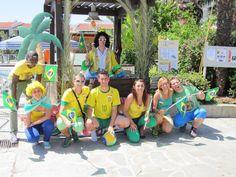 Journée Brésil au #ClubMarmara #GoldenCoast #Grece #vacances #voyage