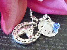 Horse shoe Charm necklace