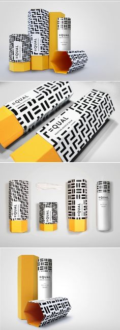 Equal Skincare Branding and Packaging by Claudia Lloyd