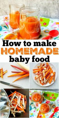 Instant Pot Baby Food - Deliciously Savvy - Instant Pot Baby Food How to make homemade baby food yourself. Instant Pot baby food is easier than you think and you'll know exactly what you're feeding your baby. Baby Carrot Recipes, Homemade Baby Foods, Baby Food Recipes, Easy Recipes, Pressure Cooker Applesauce, Using A Pressure Cooker, Small Food Processor, Food Processor Recipes, Baby Food Vegetables