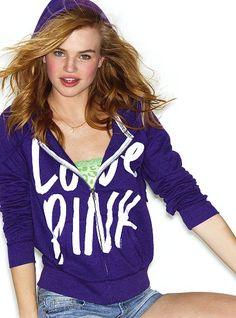 Perfect Zip Hoodie - Victoria's Secret Pink® - Victoria's Secret
