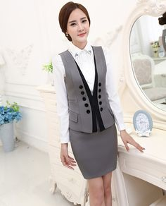 Cheap suit fabric, Buy Quality set description directly from China suit dance Suppliers:     100% Brand New       Fashion Design       Office Lady Formal Women Suits (Vest + Skirt)&nbsp