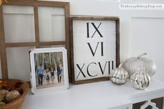 Absolutely in love with the idea of your wedding date in roman numerals!