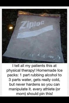 how to make an ICEPACK