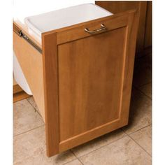 Pull-Out & Built-In Trash Cans - Cabinet Slide Out & Under Sink Kitchen…