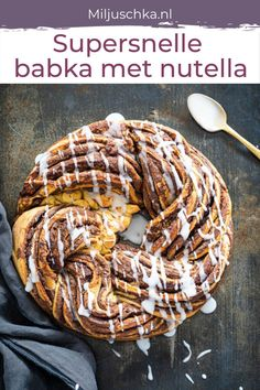 Nutella, Flatbread Pizza, Fun Cooking, Cake Cookies, Just Desserts, Sweet Recipes, Bakery, Sweets, Snacks