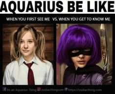 12 Best Zodiac Memes That Perfectly Sum Up The Personality Traits, Strengths & Weaknesses Of Aquarius Woman Aquarius Funny, Aquarius Traits, Aquarius Love, Astrology Aquarius, Aquarius Quotes, Aquarius Woman, Zodiac Signs Astrology, Zodiac Signs Aquarius, Zodiac Star Signs