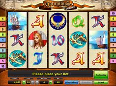 Play free columbus deluxe slot game.