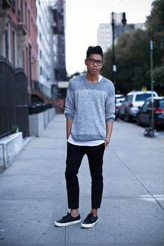 Outfit: Men's Sweaters For Fall Sweater Weather ... | Closet Freaks | Menswear & Personal Style