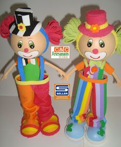 C&C Artesanatos CTBA: Tema Circo
