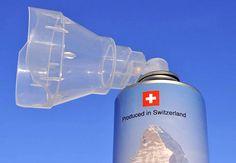 Швейцария начала поставлять в Китай альпийский воздух