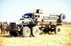 Casspir Sesspir, six wheeled variant of the regular mine resistant Casspir troop transport vehicle used in the Angolan Bush War and developed in South Africa during the Only one prototype was ever made South African Air Force, World Conflicts, Army Day, Armoured Personnel Carrier, Bug Out Vehicle, Defence Force, Armored Fighting Vehicle, Tactical Survival, Military Weapons