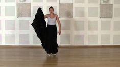 Técnica avanzada de bata de cola flamenca: Cogida #4