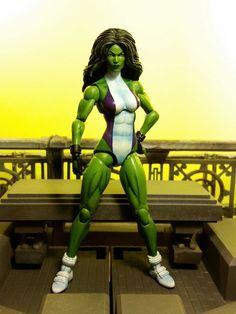 She Hulk (Marvel Legends) Custom Action Figure