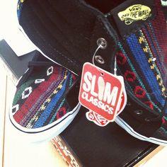 Sk8-Hi Slim guate. #herfst #vans #guate #new #gobritain