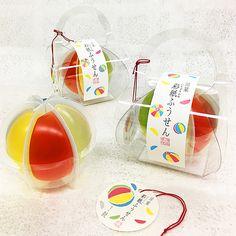 彩紙ふうせん | 御菓子処 鼓 | 金沢の水菓子店(ゼリー)。株式会社鼓