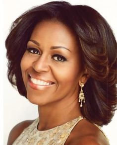 First Lady Michelle Obama - Pure Gold