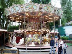 Double Decker Carousel in Belgium