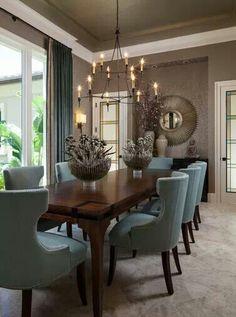 Dining room design. #interiordesigninspiration #decorationideas #interiordesigner interior inspirations, design inspiration, home interior. See more at http://www.brabbu.com/en/inspiration-and-ideas/category/interior-design