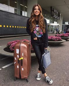 """340962059b262 Negin Mirsalehi on Instagram  """"Headed to Verona for less than 24 hours. ⭐ """""""
