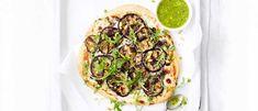 Sicilian aubergine pizzas recipe - olive magazine