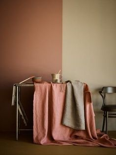 Terracotta kitchen Earth Color Styling with Tina Hellberg Color Inspiration, Interior Inspiration, Color Terracota, Deco Rose, Kitchen Wall Colors, Earth Color, Warm Colors, Color Trends, House Colors