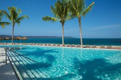 The best side of vacation is poolside at Secrets Vallarta Bay Puerto Vallarta in Mexico! Apple Vacations click image to find a travel advisor near you Puerto Vallarta, Vallarta Mexico, Mexico Vacation Destinations, Vacation Spots, Apple Vacations, Best Vacations, Cool Pools, Mexico Travel, Travel Goals