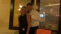Ron gave Alana Consolo a $50 bill for wearing CSS beads at the WCR Officer Installation last night.