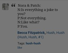 Patch and nora My heart...♡