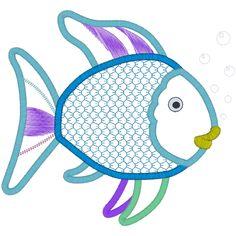 Fish (A11) Fish Applique 6x10