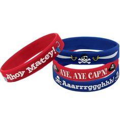 Pirate's Treasure Wristbands 4ct