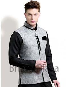 Classic Look Waist Coat Item code : NJ1134  http://www.bharatplaza.com/mens-wear/coats/classic-look-waist-coat-nj1134.html