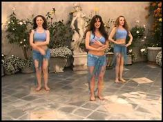 Rania bellydance fitness all for body - 48 mins, great explanation of basic moves - begginner stage