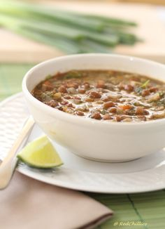 Lentil Veggie Soup - great for Fall and high in protein too!