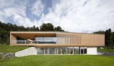 Superbe maison semi-enterrée autrichienne offrant un magnifique panorama   Construire Tendance