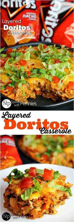 Doritos Casserole | Scrumptious Super Bowl Food Ideas