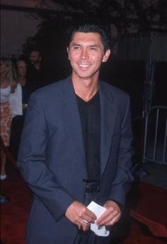"Lou Diamond Phillips. Anybody watching ""Longmire?"" He still looks good - and he sings!"